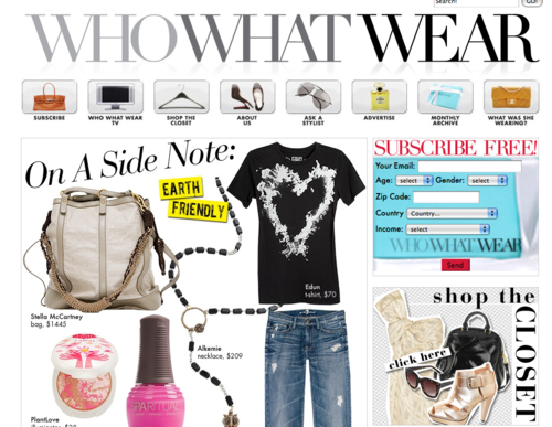 On A Sidenote: Earth Friendly - Celebrity Style and Fashion from WhoWhatWear_1240414853268